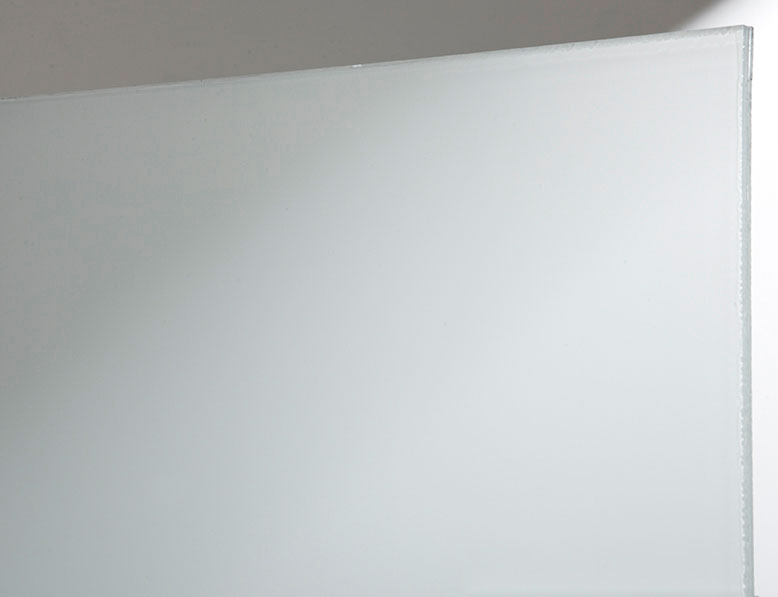 Star Glass Product Sample - White Translucent Glass